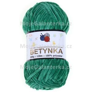 Příze Betynka, 331, tmavě zelená