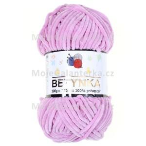 Příze Betynka, 334, světle fialová (levandulová)