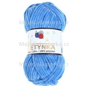 Příze Betynka, 341, modrá