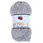 Příze Betynka, 357, šedá