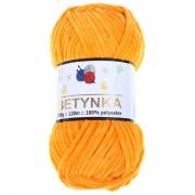 Příze Betynka, 368, tmavě žlutá