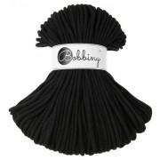 Příze Bobbiny, 3mm, black (černá)