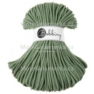 Příze Bobbiny, 5mm, eucalyptus green (zelená)