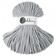 Příze Bobbiny (šňůry), 5mm, light grey (světle šedá)