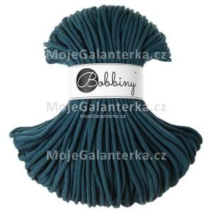 Příze Bobbiny, 5mm, PETROL (peacock blue)