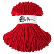 Příze Bobbiny (šňůry), 3mm, red (červená)