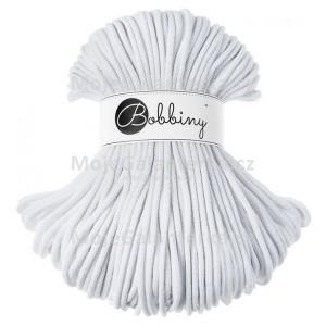Příze Bobbiny, 5mm, white (bílé)