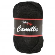 Příze Camilla, 8001, černá