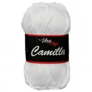 Příze Camilla, 8002, bílá