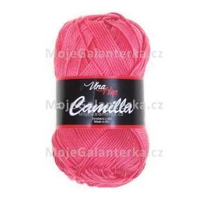Příze Camilla, 8006, růžovo lososová