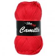 Příze Camilla 8008, červená