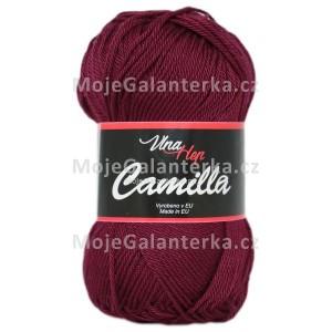 Příze Camilla, 8024, bordó tmavá