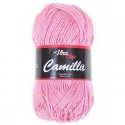 Příze Camilla, 8027, bledě růžová