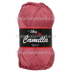Příze Camilla, 8029, starorůžová tmavá