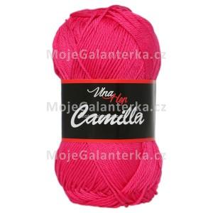 Příze Camilla, 8036, malinová