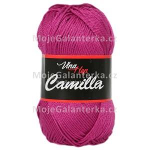 Příze Camilla, 8048, purpurová (fialovo růžová)