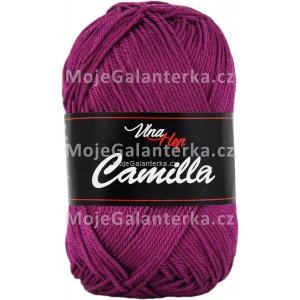 Příze Camilla, 8049, purpurová