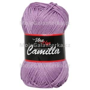 Příze Camilla, 8054, světle fialová
