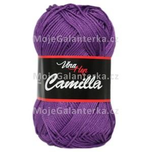 Příze Camilla, 8057, tmavě fialová
