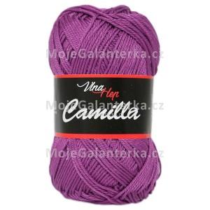Příze Camilla, 8065, fialová