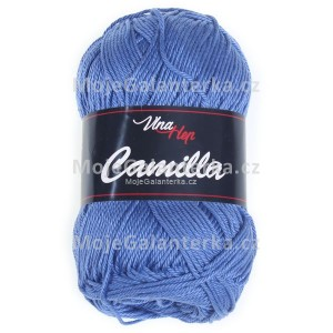 Příze Camilla, 8093, modrá