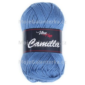 Příze Camilla, 8104, modrá
