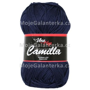 Příze Camilla, 8120, modrá tmavá