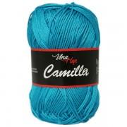 Příze Camilla 8125, tmavá tyrkysová