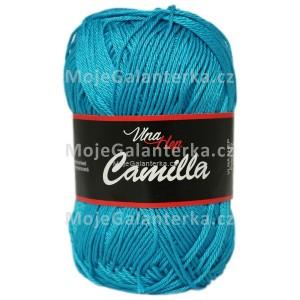 Příze Camilla, 8125, tmavá tyrkysová
