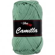 Příze Camilla, 8135, zeleno šedá