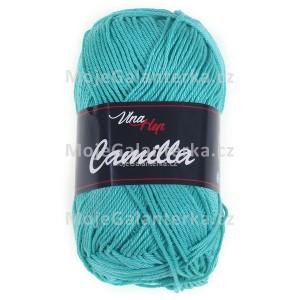 Příze Camilla, 8138, zelený tyrkys