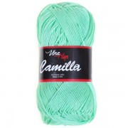 Příze Camilla 8140, mátově zelená