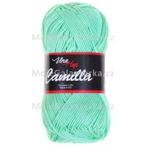 Příze Camilla, 8140, mátově zelená