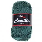 Příze Camilla, 8144, tmavě zelená