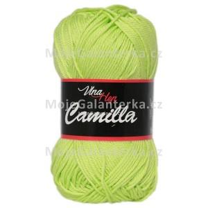 Příze Camilla, 8145, světle zelená