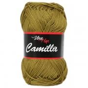 Příze Camilla 8152, khaki zelená