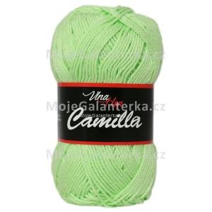 Příze Camilla, 8158, zelená světlá