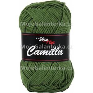 Příze Camilla, 8163, olivově zelená