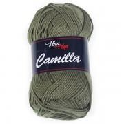 Příze Camilla, 8168, khaki zelená