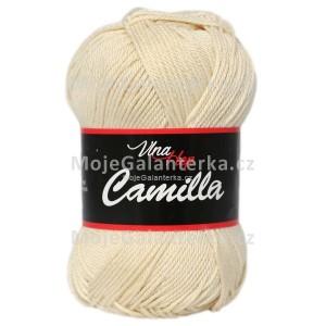 Příze Camilla, 8173, krémová přírodní
