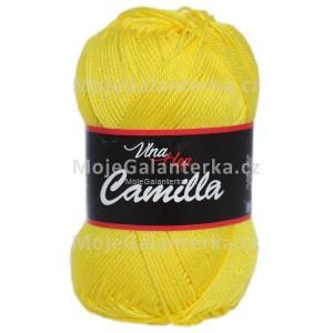 Příze Camilla, 8184, sytě žlutá