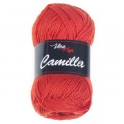 Příze Camilla, 8198, tmavě oranžová