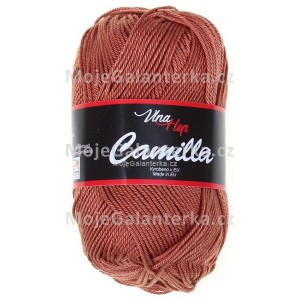 Příze Camilla, 8211, rezavě hnedá