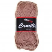 Příze Camilla 8217, hnědo béžová