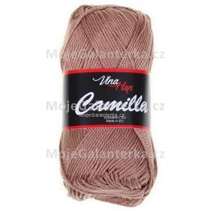 Příze Camilla, 8217, hnědo béžová