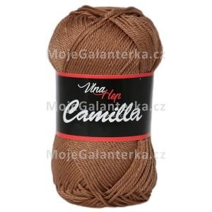 Příze Camilla, 8218, hnědá