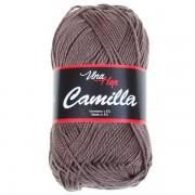 Příze Camilla, 8224, šedohnědá