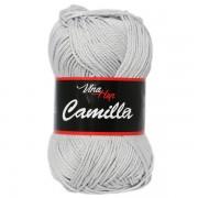 Příze Camilla 8230, světle šedá