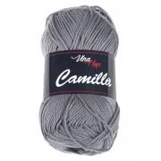 Příze Camilla, 8234, kovově šedá