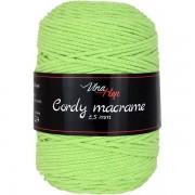 Příze Cordy Macrame, 8145, světle zelená
